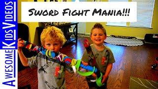 Video Kids Sword Fight download MP3, 3GP, MP4, WEBM, AVI, FLV Juni 2018