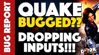 Quake BUGGED?? She's Dropping Heavy Attacks!!