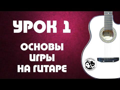 Урок 1. Основы игры на гитаре