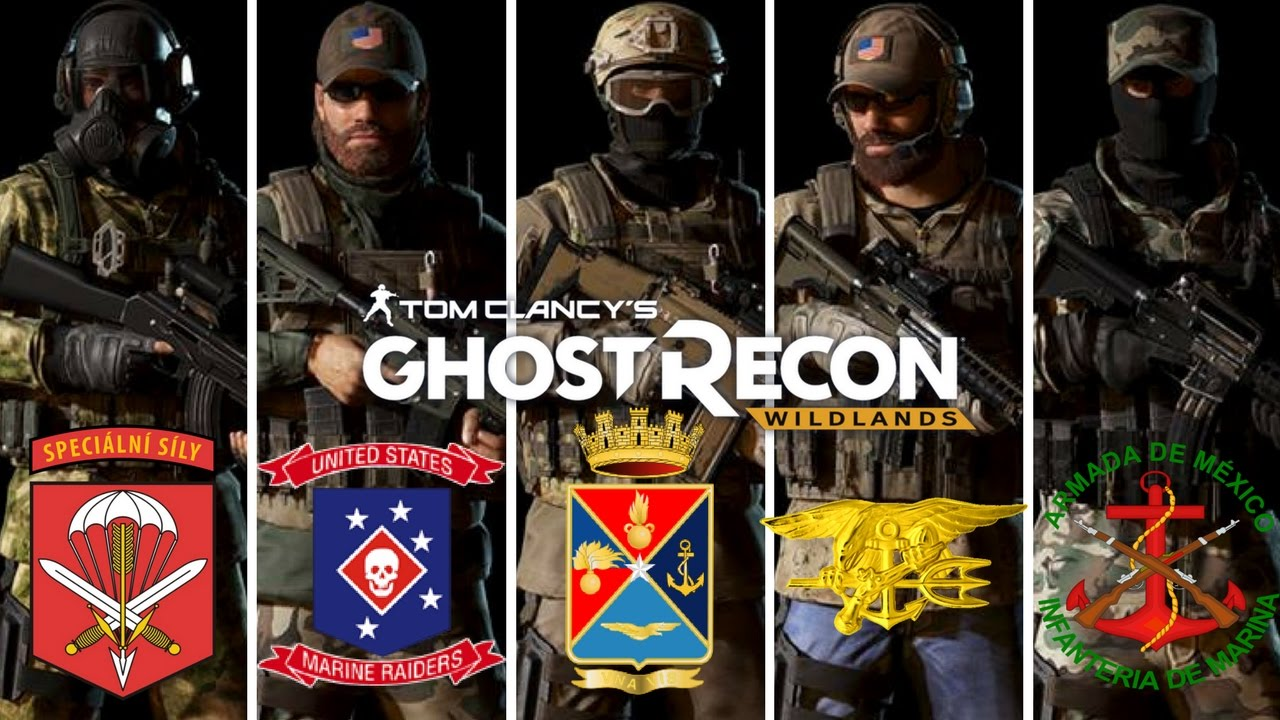 Ghost Recon Wildlands Special Forces outfits: Czech 601st ...