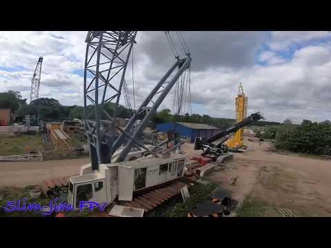 Фото Fpv drone crane flippy flop!