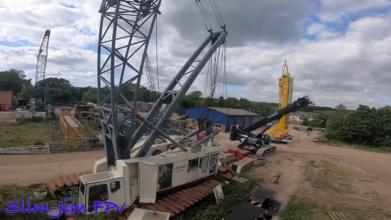 Fpv drone crane flippy flop! фото