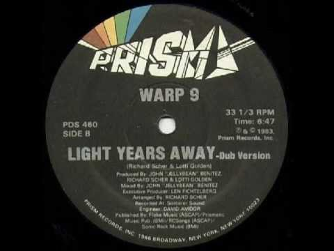 Warp 9 - Light Years Away 1983 Complete 12'' Maxi