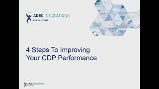 4 Steps to Improving Your CDP Performance Image