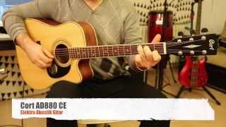 Cort AD880 CE Elektro Akustik Gitar İncelemesi (Hızlı Video)