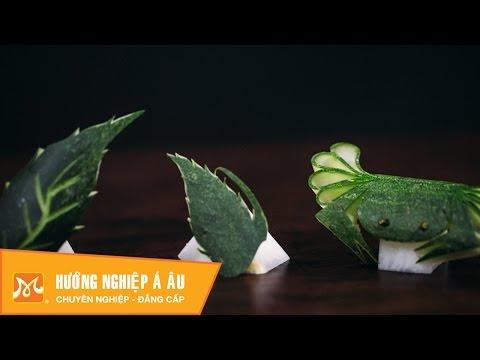 7 cách cắt tỉa dưa leo (dưa chuột) đơn giản - Phần 1 | Học cắt tỉa rau củ quả