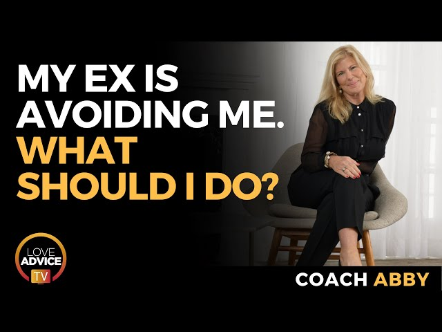 My Ex is Avoiding Me. What Should I Do?