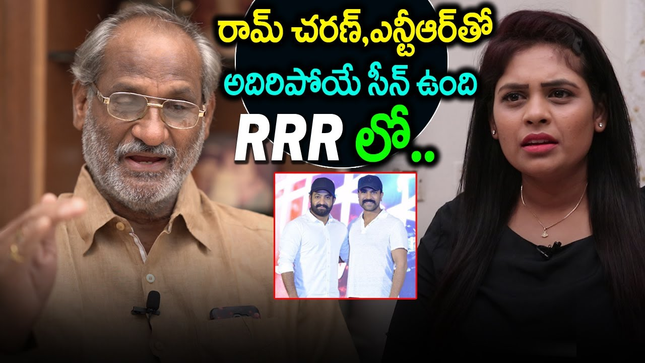 Actor Sammeta Gandhi About Jr.NTR and Ram Charan Fight Scens in RRR Movie   Friday poster