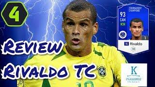REVIEW RIVALDO MÙA TC. Đôi chân vòng kiềng huyền thoại Brazil. Review cầu thủ FiFa Online 4.