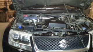 Замена масла в АКПП Suzuki Grand Vitara 2.0 АТ 2007