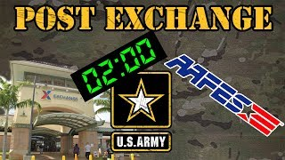 The Army Post Exchange (PX)