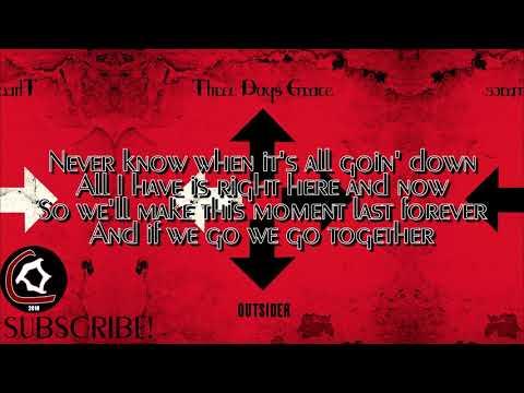 Three Days Grace - Strange Days (LYRIC VIDEO) [From the