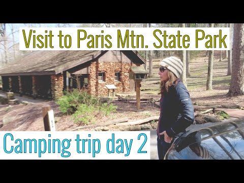 FUN CAMPING TRIP Day 2 Visit To Paris Mtn. State Park (Cooking, Hiking & Enjoying Life)