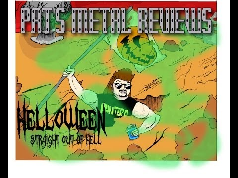 "PAT'S METAL REVIEWS - Helloween ""Straight Out of Hell"""