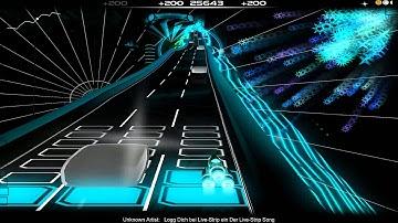 Logg dich bei Livestrip ein on Audiosurf