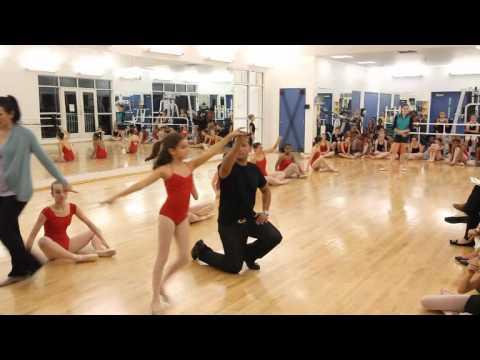 In Motion School Of Dance Nutcracker Practice Dec 12 2011