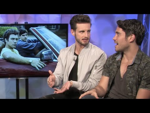 Nico Tortorella and Myko Olivier Talk Making 'Menendez: Blood Brothers