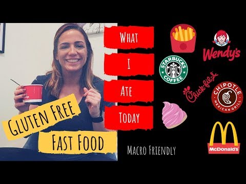 WHAT I ATE TODAY | Gluten Free Fast Food | MACRO AND CALORIE FRIENDLY