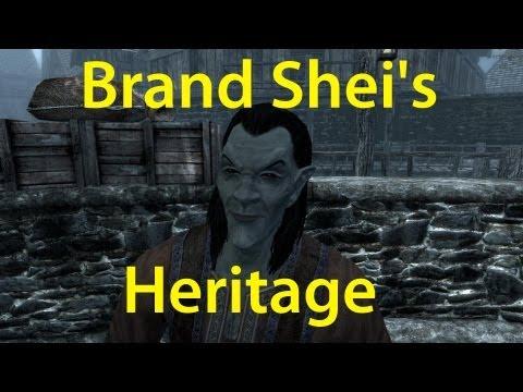 Skyrim Brand Shei's heritage