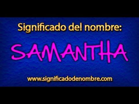 Samantha es Tischmatchmacherei