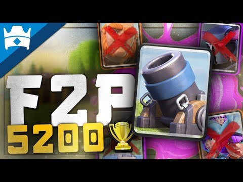 DESTROY HARD COUNTERS WITH F2P 2.9 MORTAR CYCLE DECK! || 5200+ 2.9 Mortar Cycle Deck for Ladder!