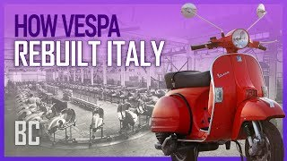 Vespa: The Scooter That Rebuilt Italy