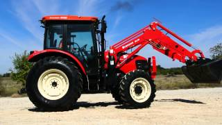 Demo 78hp Branson 8050 Cab Tractor with Loader