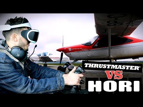 Thrustmaster vs Hori HOTAS Flightsicks Comparison - Tested by Real Pilots