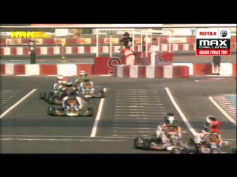 ROTAX DD2 grande finale Dubai 2011 Pier-Luc Ouellette