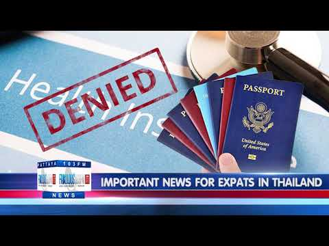 IMPORTANT NEWS FOR EXPATS IN THAILAND