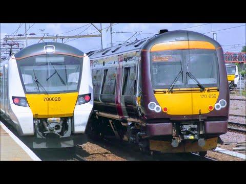 Beautiful Trainspotting At Cambridge Station, WAML | 04/08/18