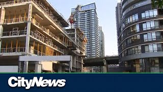 Woman rescued from crane near Toronto waterfront