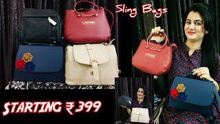 Flipkart Shopping Haul Beautiful Sling Bags Various Brand Sling Bags Review