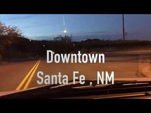 Phantom 3 Flight Over Downtown Santa Fe