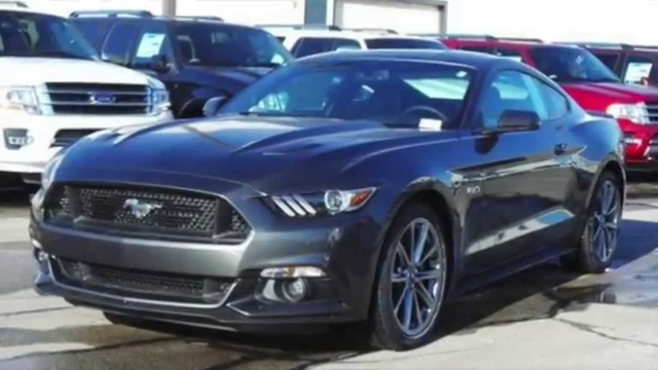 2015 ford mustang gt premium rwd bill knight ford in tulsa youtube. Black Bedroom Furniture Sets. Home Design Ideas