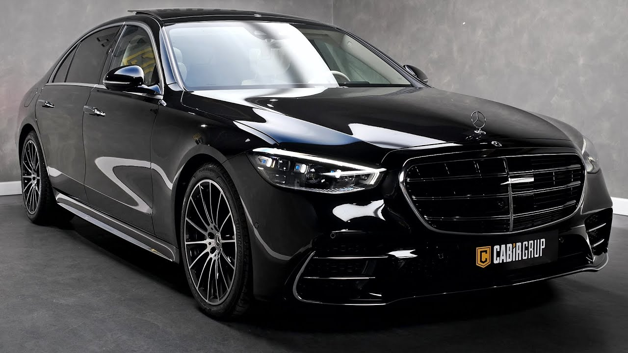 2022 Mercedes S-Class - High-Tech Luxury Sedan!