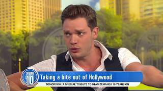 Dominic Sherwood Talks \'Shadowhunters\' & Girlfriend Sarah Hyland | Studio 10