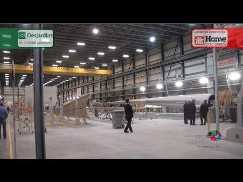 Aide financière à LM Wind Power de Gaspé