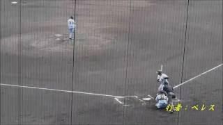 2016/06/11 Gガブリエル・ガルシア 6回の投球(無失点)