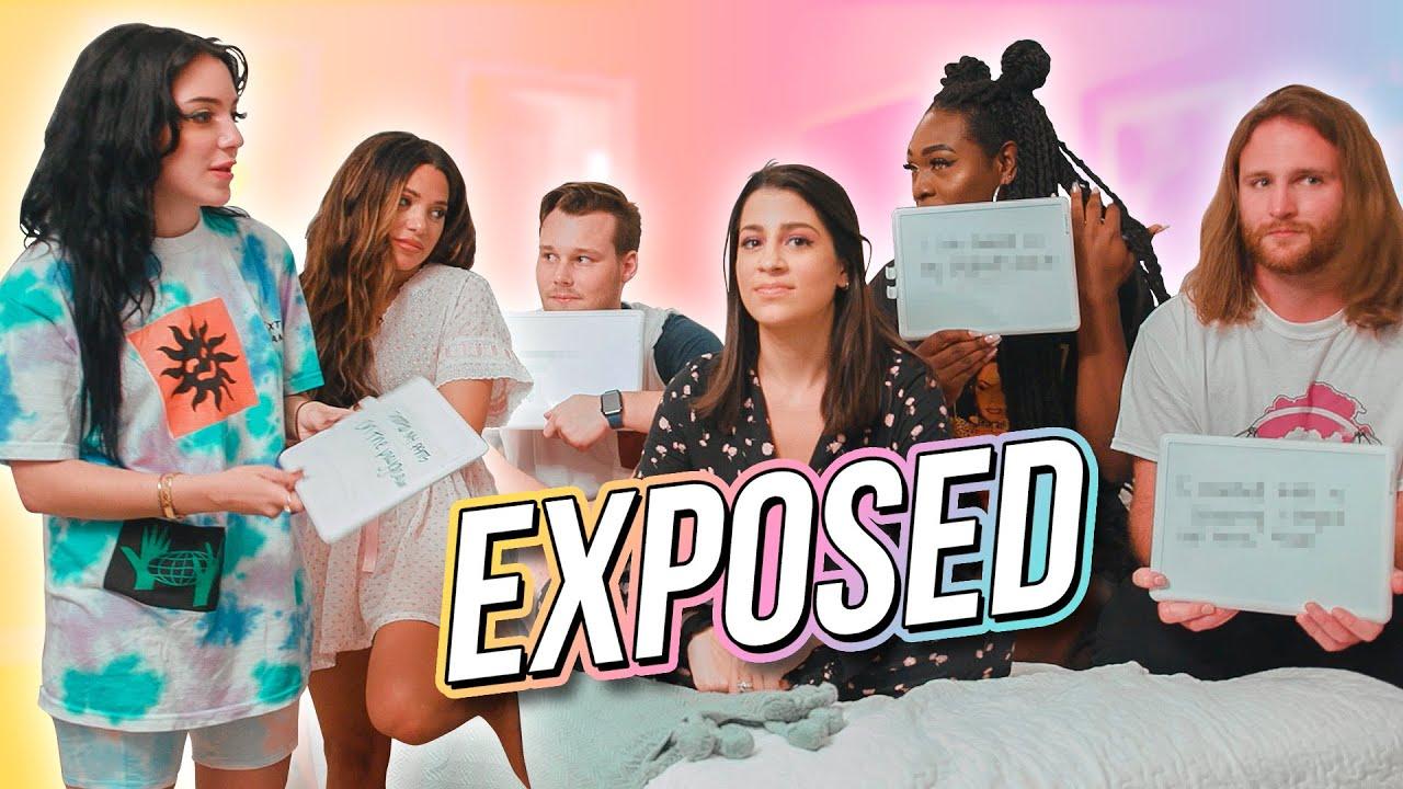 Exposing Our Best Friends' Secrets (spill the tea) w/ Niki & Gabi