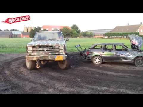 Audi 80 engine torn out by Chevy K30