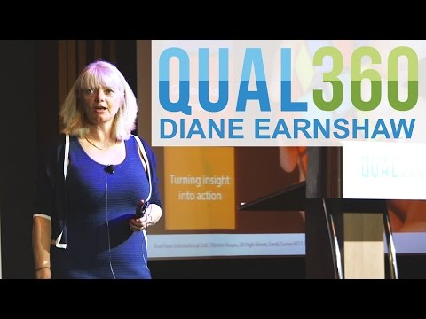Qual360 Singapore Talk   Diane Earnshaw   Using Video To Bring Research To Life