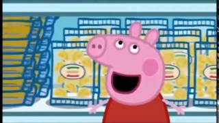 peppa pig arabic shopping day(morrocan) fokaha funny videos