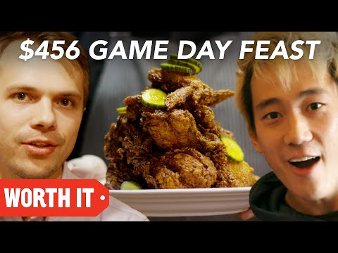 $10 Game Day Food Vs. $456 Game Day Food  Super Bowl 2018