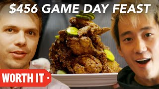 Video $10 Game Day Food Vs. $456 Game Day Food • Super Bowl 2018 download MP3, 3GP, MP4, WEBM, AVI, FLV Februari 2018