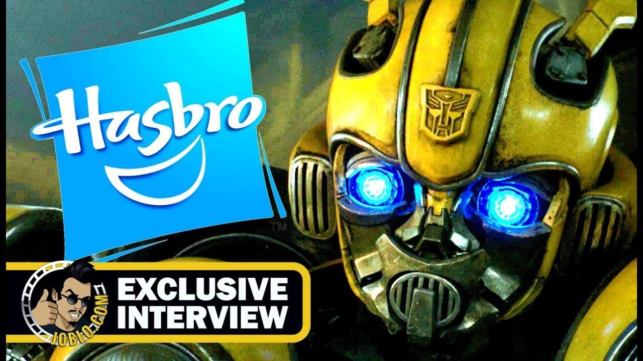 Download Hasbro Toys Exclusive Comic Con Interview & Walkthrough (SDCC 2018) Bumblebee