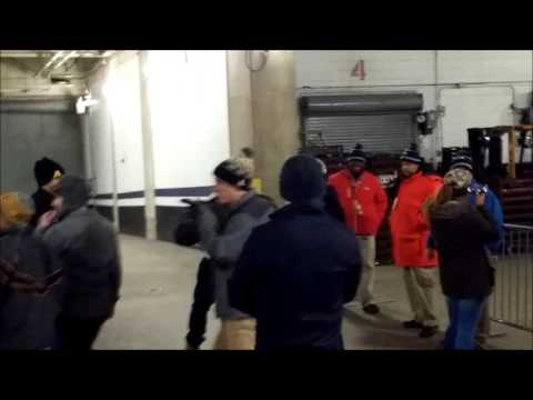 Army Navy 2016 - Leaving the Field Thru the Navy Tunnel