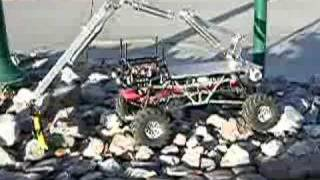 RC Rock Crawler Robotic Toy with Pneumatic Robotic Arm