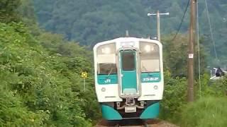 [警笛あり]JR四国 徳島線 1500形+1200形+1200形+1500形 阿波池田駅付近通過