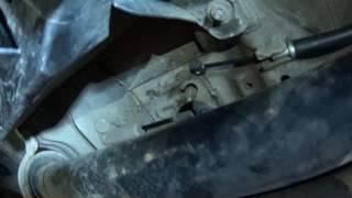 Замена Тросика Ручного Тормоза на Chevrolet Captiva
